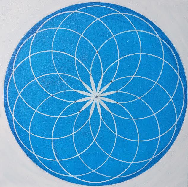 Genesis Kunst-Gemälde modern in Acryl auf Leinwand handgemalt Unikat