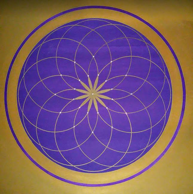 Genesis Wandbilder esoterisch modern in Acryl handgemalt